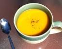 smoky butternut soup