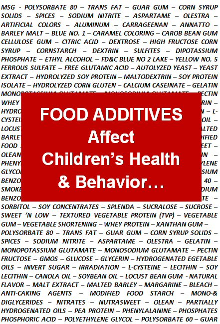food additives and childhood behaviour Ournalof#hildren s3ervicess6olume )ssue s/ctober ¥0ier0rofessional,td5 food additives and children's behaviour: evidence-based policy at the margins of certainty.
