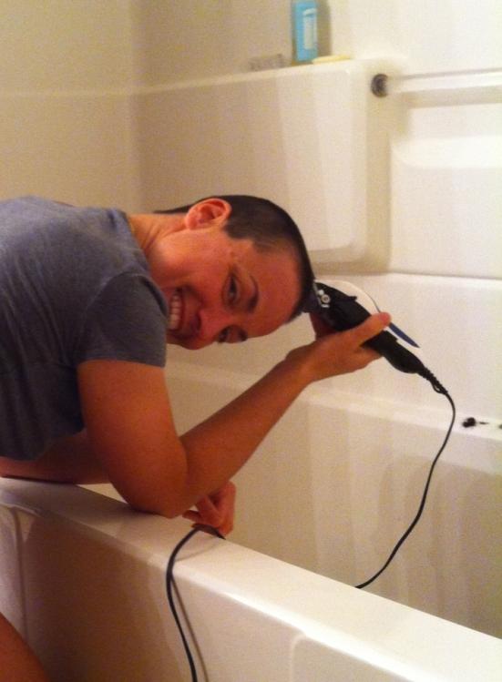 shaving hair 2