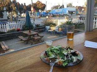 Best Caesar salad I've ever had - in Morro Bay, CA