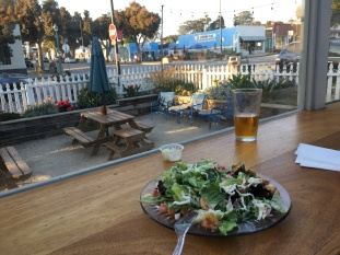 Best Caesar salad I've ever had - in Morro Bay, CA