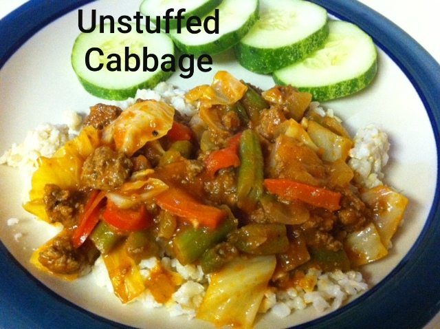 unstuffed cabbage 2