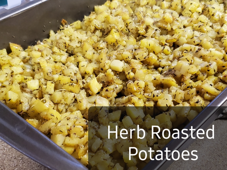 herb roasted taters